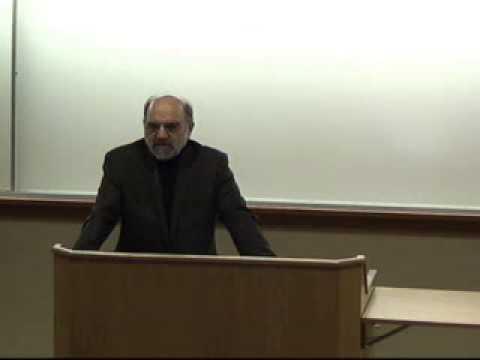 Lecture of Abdolkarim Soroush (University of Notre Dame)