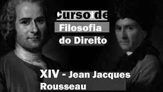 Curso de Filosofia do Direito - Aula 14 - Jean Jacques Rousseau