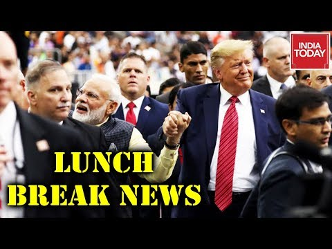 Lunch Break : Trump Expresses Hope For Pak-India Alliance | PM Modi Pays Homage To Gandhi