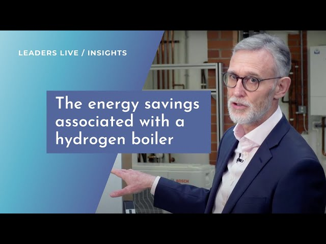 What are the energy savings associated with a hydrogen boiler?   Leaders Live Insights