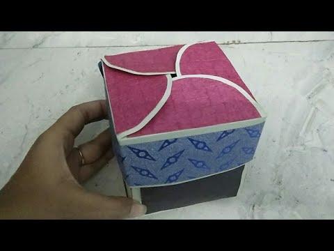 How to make exploding box/ handmade exploding surprise box craft