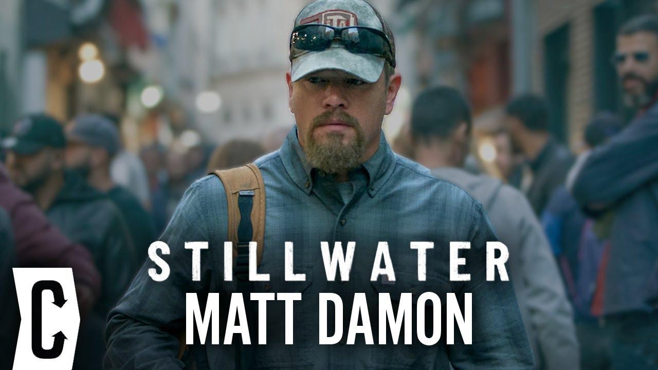 Matt Damon on Stillwater, Steven Soderbergh, and No Sudden Move