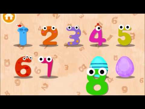 Learn to Write Number 0 to 9 with Magic Number Surprise Eggs