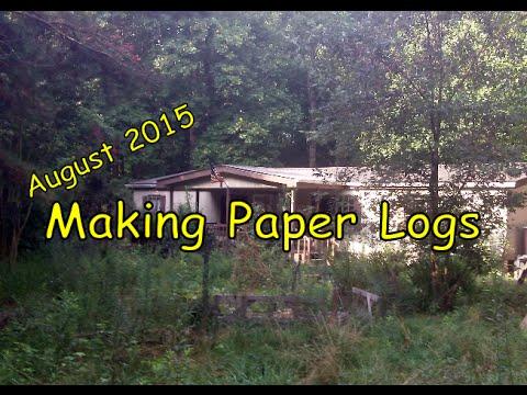 Making Paper Logs