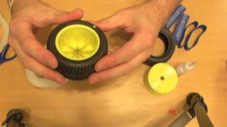 HOW TO: Glue RC Rubber Tires VOYAGE RC Gluing made simple!