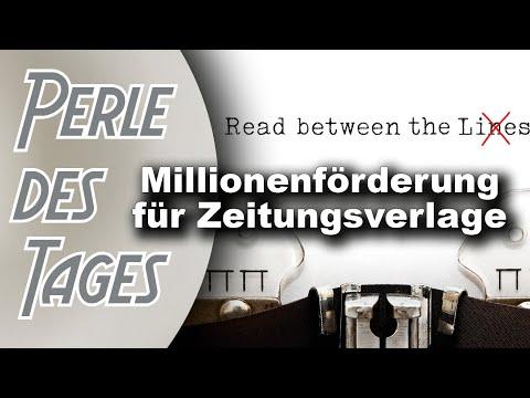 Gute Staatsnachrichten: Steuersprudel für Münchhausener Medien (Perle 348)