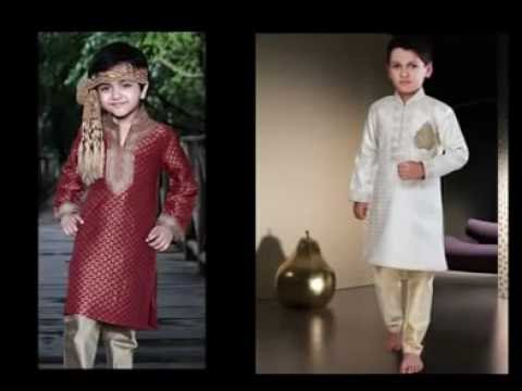 7e4665a351 Kids Sherwani | Kids Kurta Pajama - Nihal Fashions - YouTube
