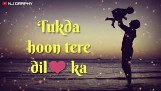 Whatsapp Status Video for Girls👸 | Father & Daughter Love💕 | Dilbaro | Father's Day Special 😍