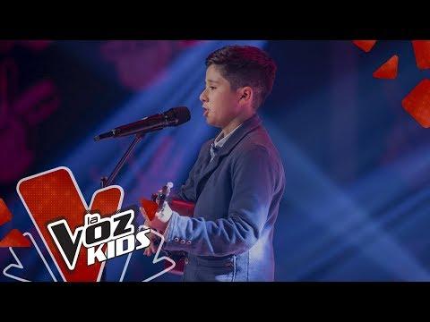 Julián canta Una Lady Como Tú – Audiciones a Ciegas | La Voz Kids Colombia 2019