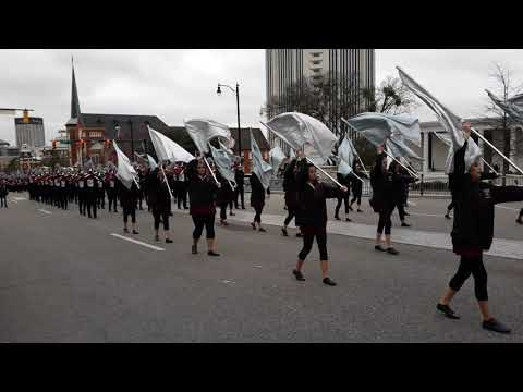 Sparkman High school marching band
