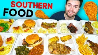 I tried REAL southern food and i'll never be the same... BBQ Restaurant TASTE TEST!