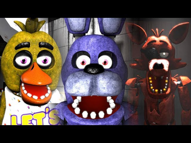 [4K SFM FNAF] Animatronics Reaction to FNAF 6 Cancellation