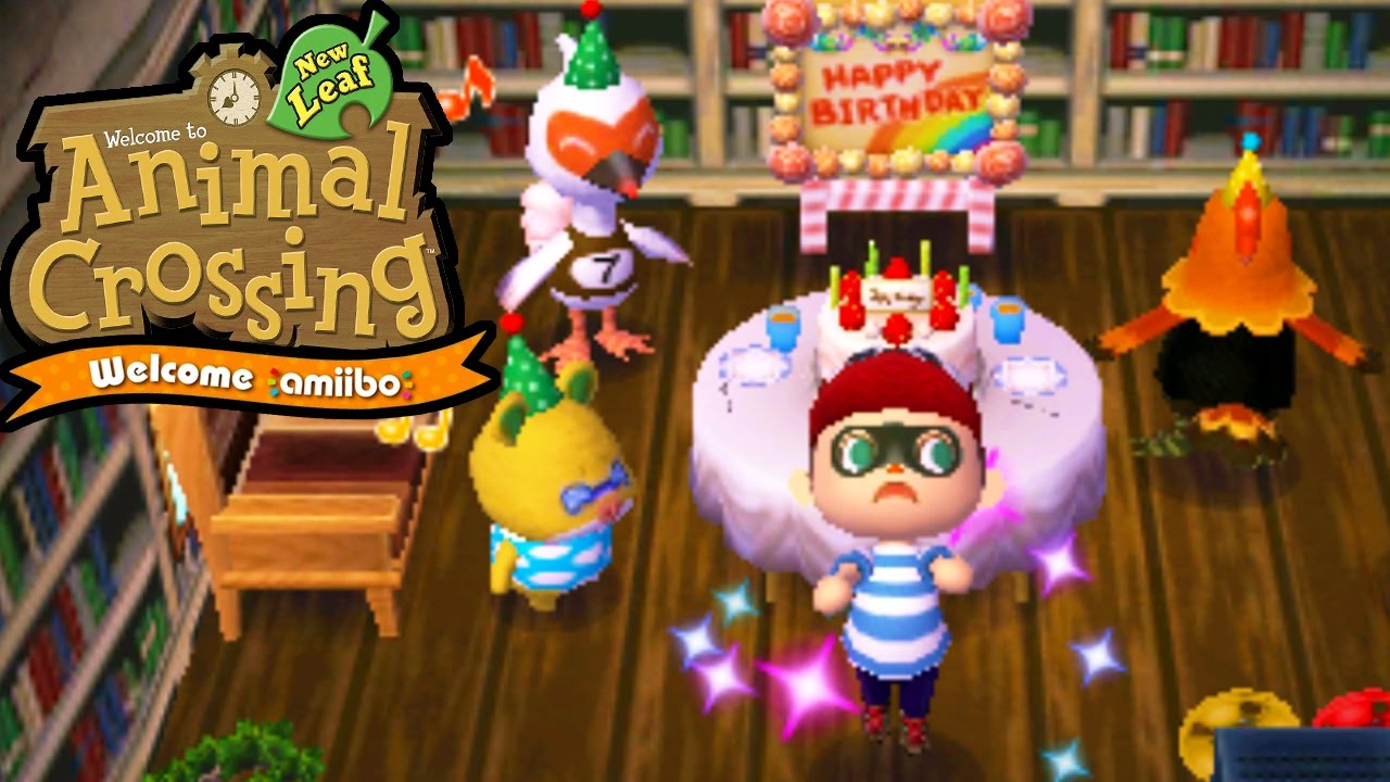 Animal Crossing New Leaf Welcome amiibo Birthday Bird Coco