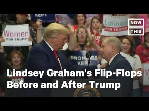 Lindsey Graham's Flip-Flops Before and After Donald Trump   NowThis