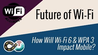 Future of Wi-Fi - Wi-Fi 6 and WPA3 Impacts on Mobile Internet