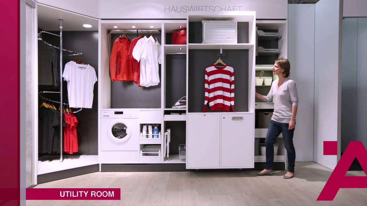 Meuble Seche Linge Ikea Häfele Storage - Youtube