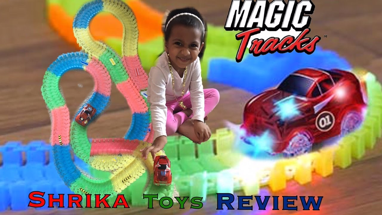 Magic Tracks Review 220 Piece Glowing Track Set Includes 11 Ft