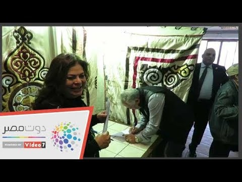 عايدة رياض وماجدة زكى يشاركون فى انتخابات المهن التمثيلية  - 13:54-2019 / 3 / 22