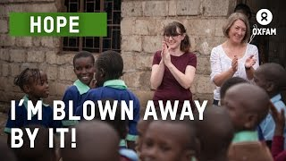 See For Yourself  - supporters see how Oxfam works in Kenya to end poverty | Oxfam GB