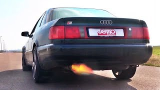 Audi S6 C4 20V Turbo Anti Lag SOUND