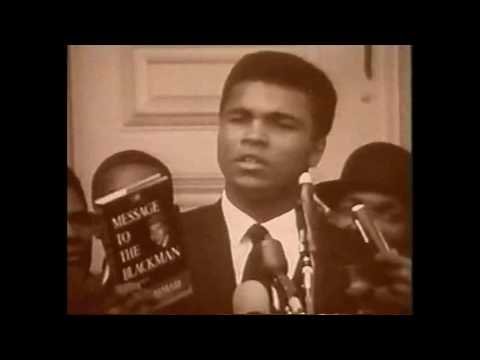 Muhammad Ali on the Vietnam war and racism.