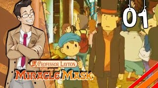 "Professor Layton and the Miracle Mask | ""Welcome to Monte d"