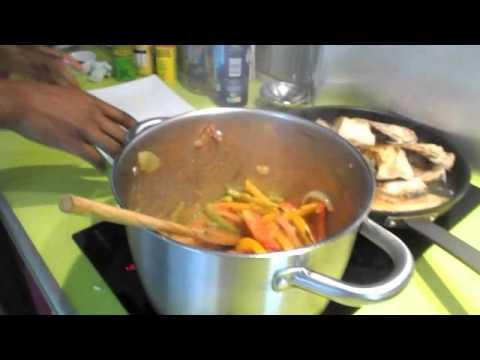 Cuisine africaine revisit e avec coco bossu la for Cuisine africaine