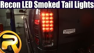 How To Install Recon LED Smoked Tail Lights
