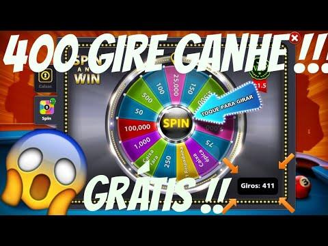 8 Ball pool - 400 GIRO GRÁTIS + 300 RASPADINHAS ACC LEVEL ALTO!!