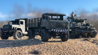 WPL B - 24 Military Truck Test and unboxing