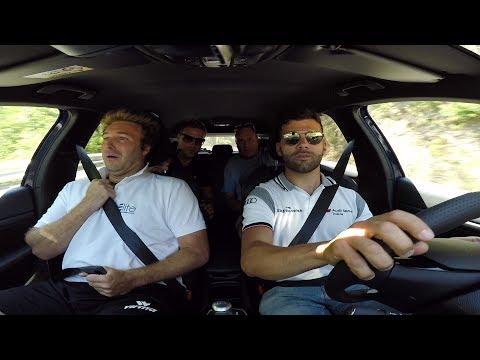 Peugeot 308 Cup (308 CV): con Davide Valsecchi (Sky Sport F1 HD) sulla salita di Gubbio