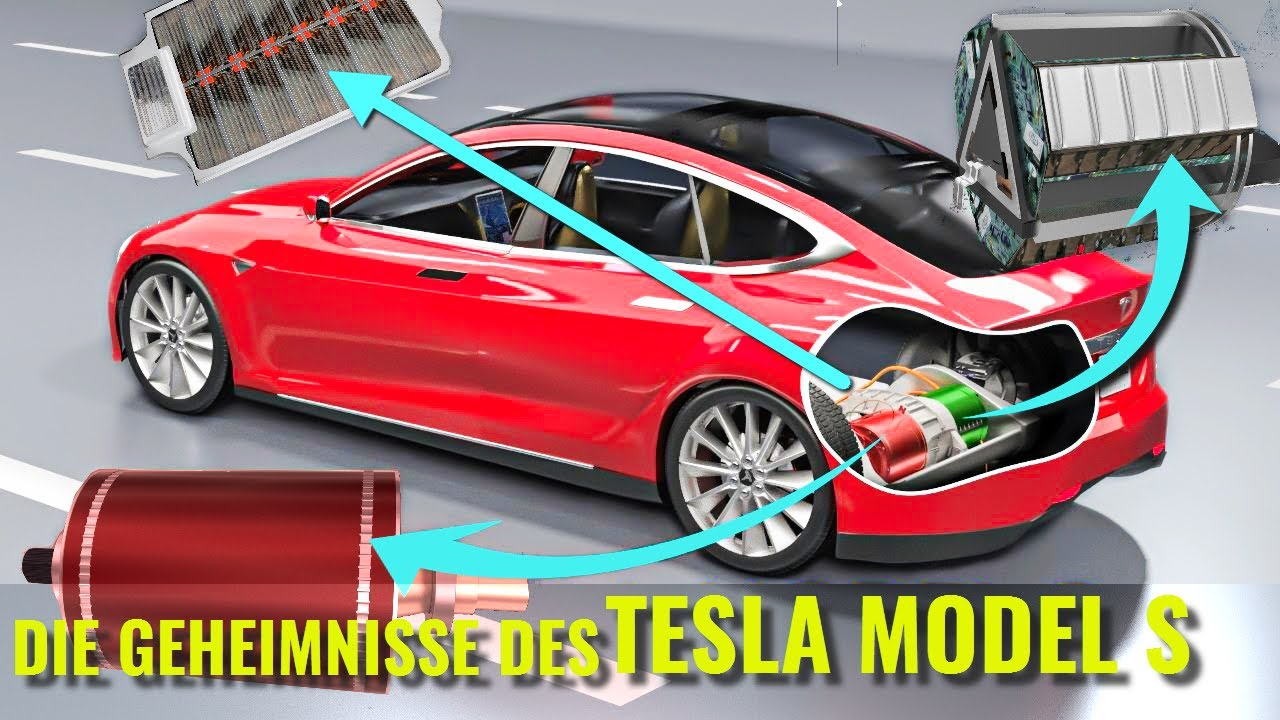 Wie funktioniert ein Elektroauto ? | Tesla Model S - YouTube