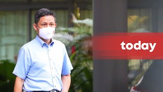 Education Minister Chan Chun Sing on the River Valley High School incident