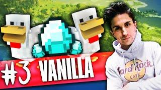 Minecraft | IL REGNO DEI POLLI E RICCHEZZE IN MINIERA! Vanilla #3