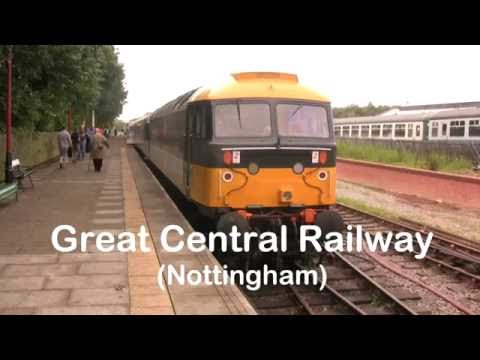 GCR Nottingham Prototype HST 41001 and 47765 Ruddington to Loughborough 27-8-16 47765 leading #2