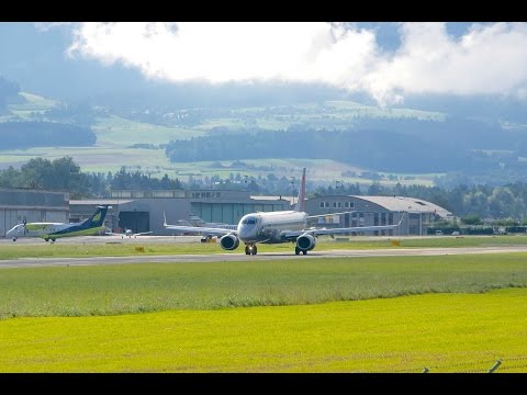 Niki ERJ 190 - Takeoff at Berne Airport HD