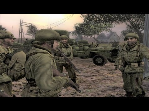 WW2 - American Army In France - Call Of Duty 2 Big Red One