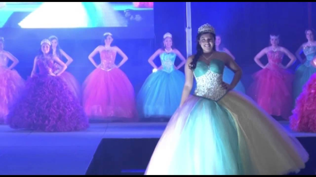 VALERIE VESTIDOS @ Weddings & Quinceaneras Expo January 2015 - YouTube