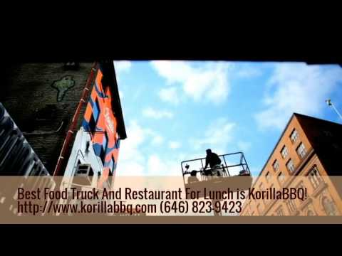 Best Food Truck And Restaurant In Waterside Plaza  For Lunch is KorillaBBQ! Visit Us Today