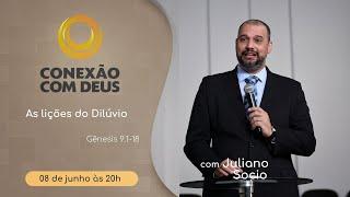 Conexão com Deus - 08/06/2020 | Rev. Juliano Socio