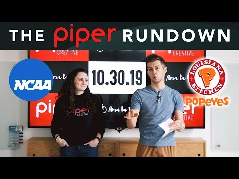 $150m Rise of the Rest Fund, Popeye's Chicken, College Players getting paid - October 30, 2019