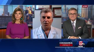Video: Infectious disease expert discusses possibility of airborne COVID-19 transmission