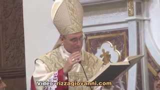 Monsignor Georg Gänswein in Sicily -Aci S.Filippo- Catania Video 3