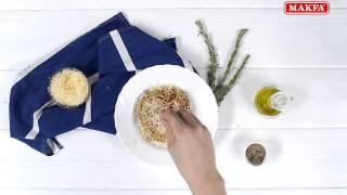 MAKFA | Рецепты | Шпинатные спагетти с розмарином
