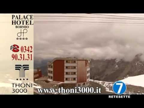 Spot pubblicitario realizzato da Seven Live TV per Hotel Palace di Bormio e Hotel Thoni 3000