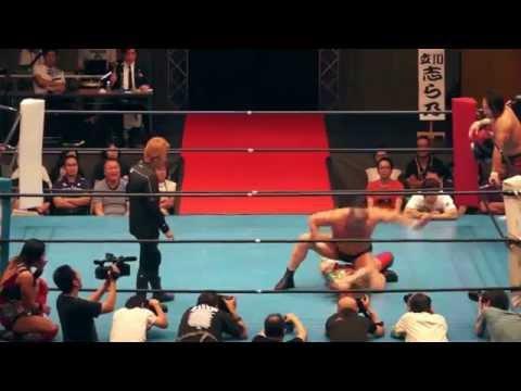 華名(KANA)&丸藤正道vs鈴木みのる&里村明衣子 06/16/2014 [Kanapromania:reach]