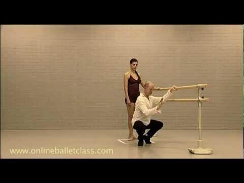 Ballet Lesson: Plie