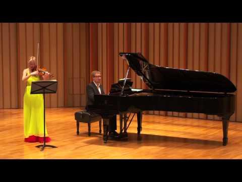 Katia Popov and Anton Smirnoff: Edvard Grieg, Sonata Op. 45 (1887)