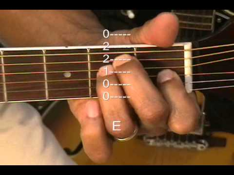 Guitar Chord Form Tutorial #32 Simple Minds Style Chords D E G A C No Capo TABS Lesson