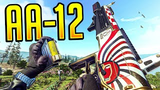 The NEW AA-12 DELETES People in Warzone!